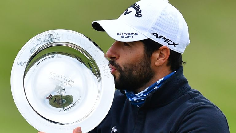 Otaegui's victory is expected to lift him to 25th in the Race to Dubai standings