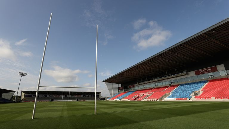Catalans Dragons will play Salford at the AJ Bell Stadium