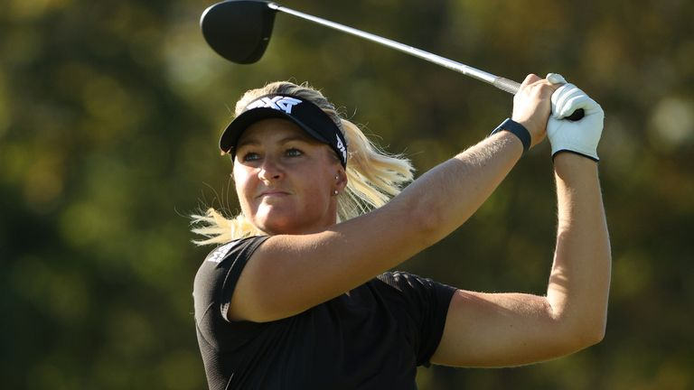 Anna Nordqvist won the second of her two major championships at the Evian Championship in 2017