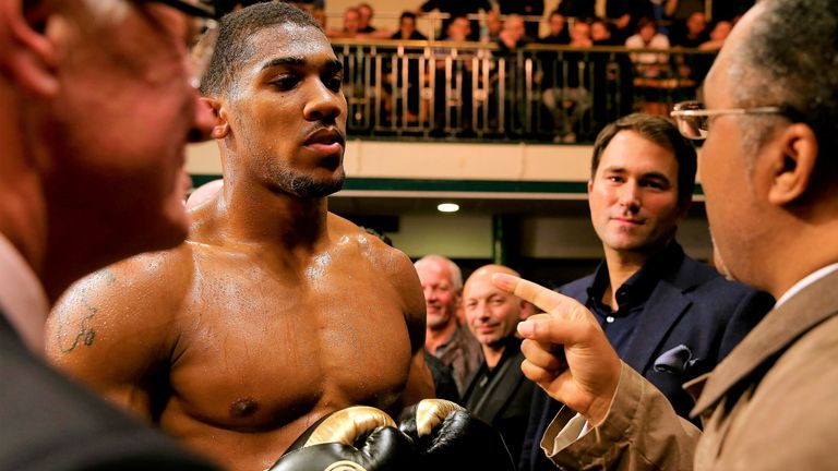 Anthony Joshua has fought at York Hall, one of Britain's historic smaller venues