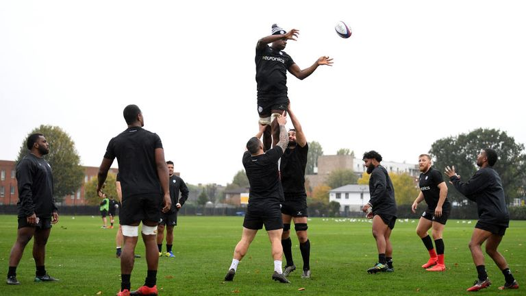 The RFU are investigating whether Sunday's game can go ahead