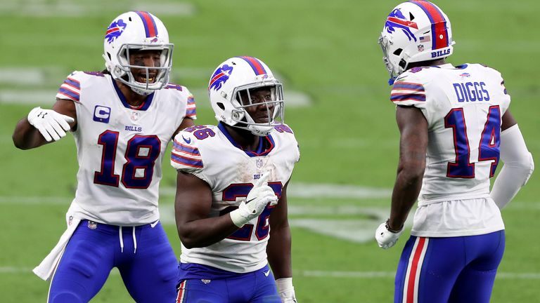 Buffalo sit top of the AFC East after beating Las Vegas Raiders to start the season in perfect fashion