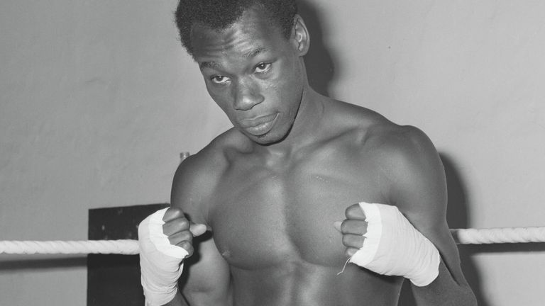 Bunny Sterling claimed the British middleweight title in 1970