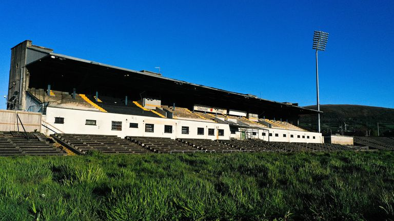 The stadium has been lying derelict in recent years, after closing in 2013