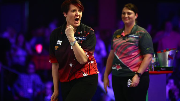 Lisa Ashton takes to the World Championship stage on Wednesday night, hoping for her first televised victory over a man