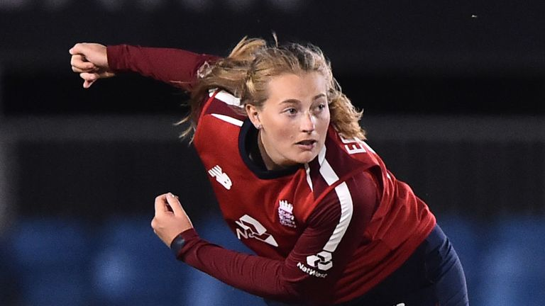 Sophie Ecclestone is the top-ranked T20I bowler in women's cricket