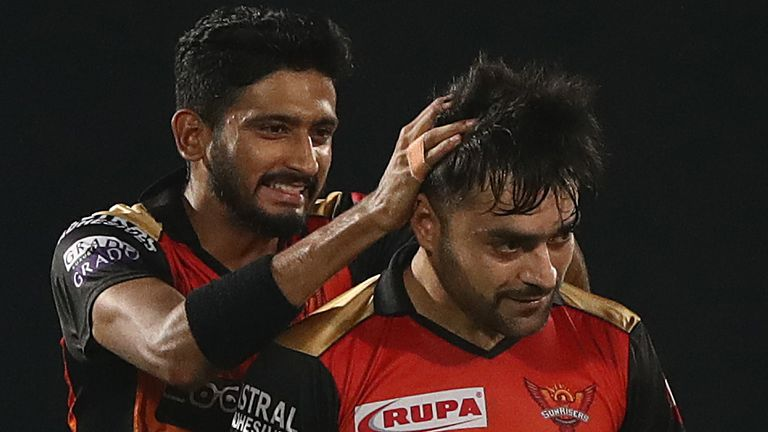 Rashid Khan's 2-14 enabled Sunrisers to restrict their opponents to just 126-7