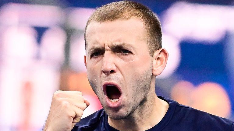Dan Evans has made it through to the quarter-finals of the European Open in Antwerp