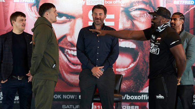 Usyk vs Chisora on Saturday night, live on Sky Sports Box Office