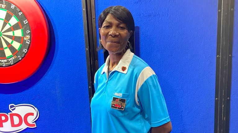 Deta Hedman will celebrate her 61st birthday before making her PDC World Championship debut