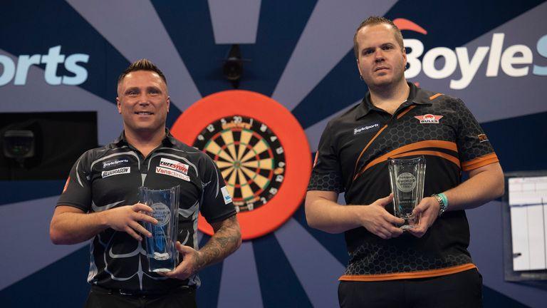 Gerwyn Price a battu Dirk van Duijvenbode pour remporter le Grand Prix de la Coupe du monde l'année dernière (Photo: PDC)