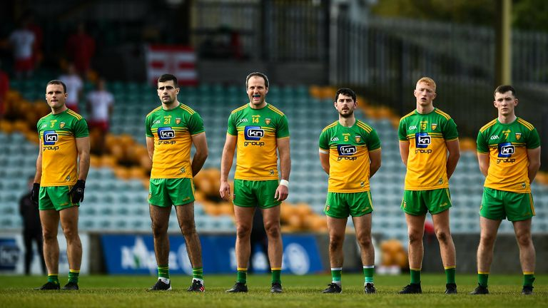 Donegal's big names were rested for the trip to Kerry