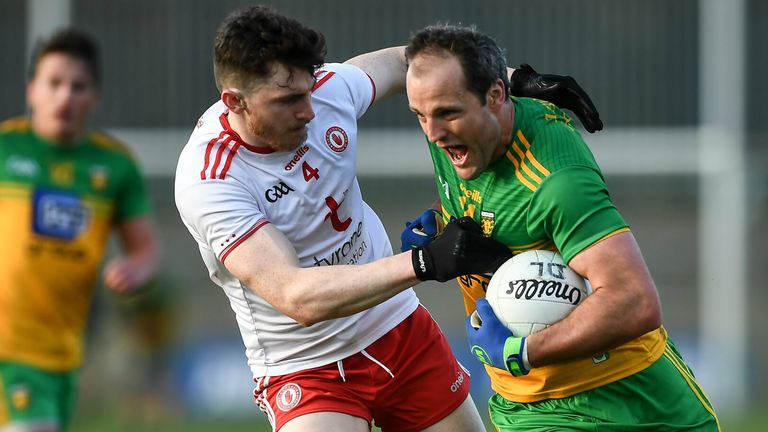 Donegal edged the contest when they met Tyrone in the National League