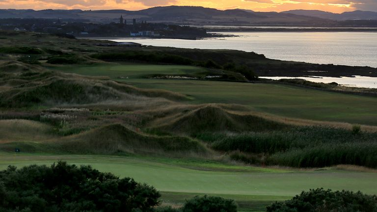 Fairmont St Andrews is home to two courses, with plenty of others in the local area