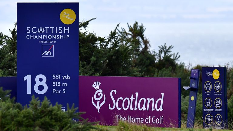 Fairmont St Andrews will host a European Tour event for the first time