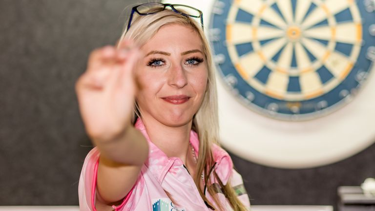 Fallon Sharrock is looking forward to the four-event Women's Series in Barnsley this weekend