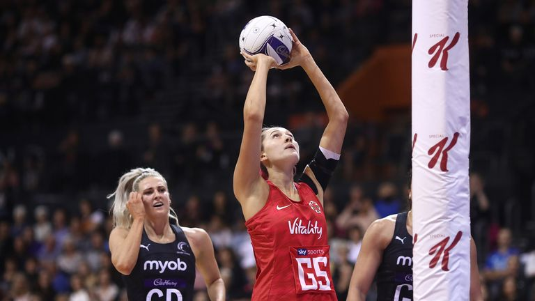 George Fisher will play in the ANZ Premiership next season for Southern Steel