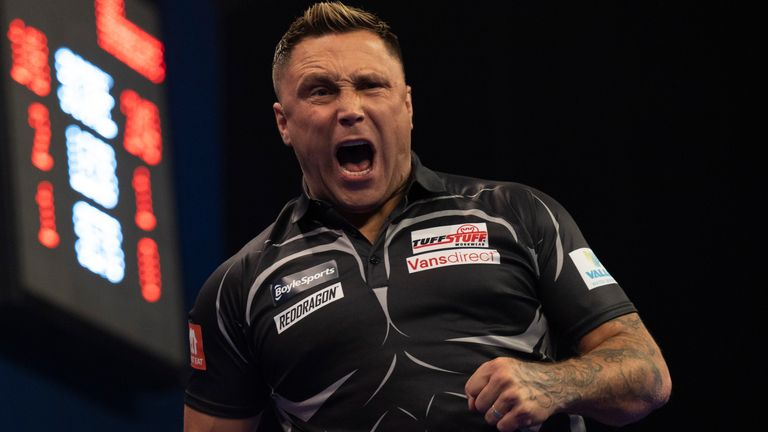 Gerwyn Price remains on course to add another major title to his growing list