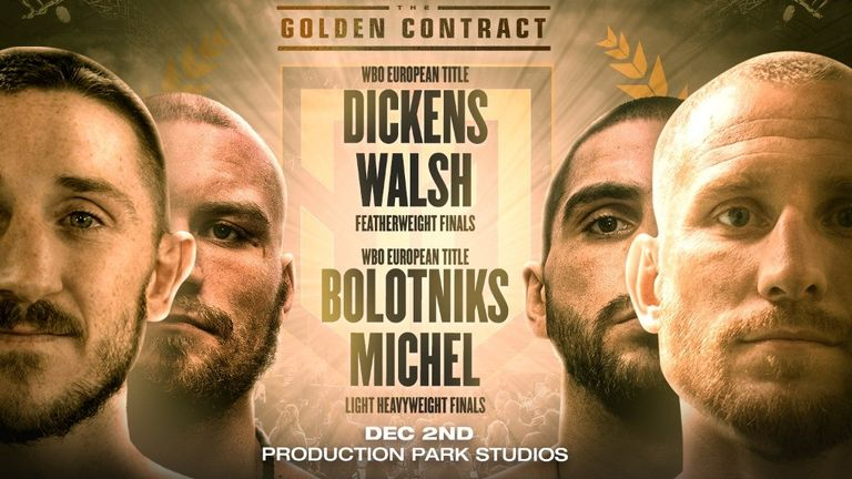 The Golden Contract, Wednesday night, live on Sky Sports