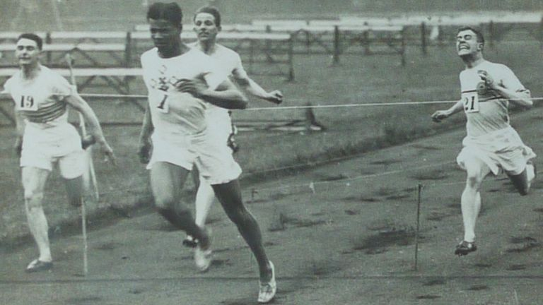 Jack London: Piano-playing Olympic sprinter and record-breaker | News News