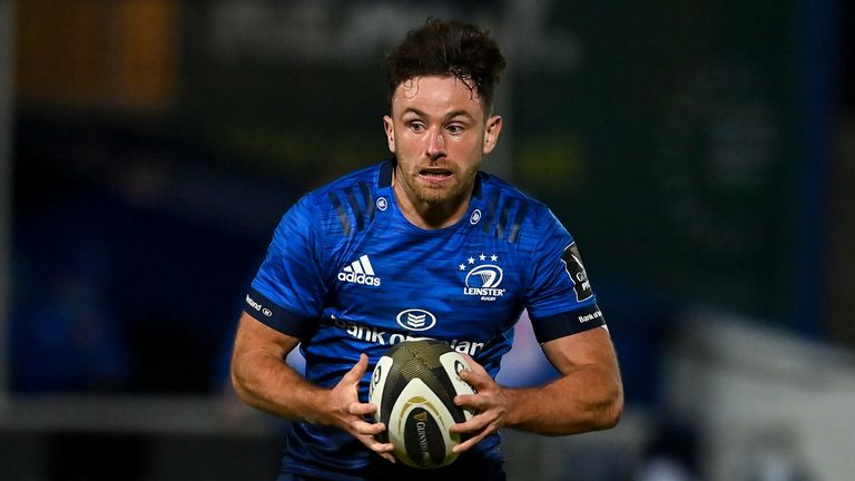 Leinster's Hugo Keenan will make his Ireland debut against Italy on Saturday