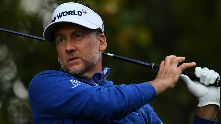 Ian Poulter is three shots off the lead after the first round at Wentworth