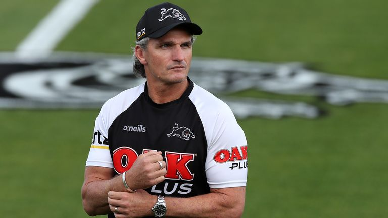 Ivan Cleary has embraced some superstitions during Penrith's winning run