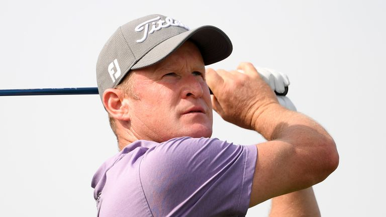 Jamie Donaldson shares the overnight lead in Cyprus