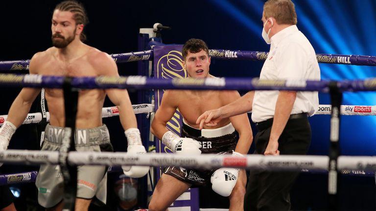 Charlton shocked Joe Laws in his last fight