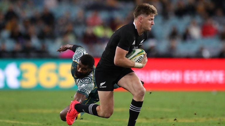 Jordie Barrett was outstanding for New Zealand