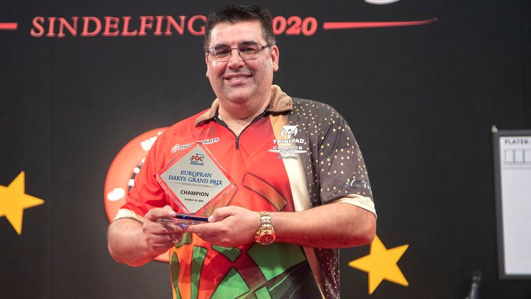 Jose De Sousa claimed his third title in less than a year on the PDC circuit, beating Michael van Gerwen to win the European Darts Grand Prix