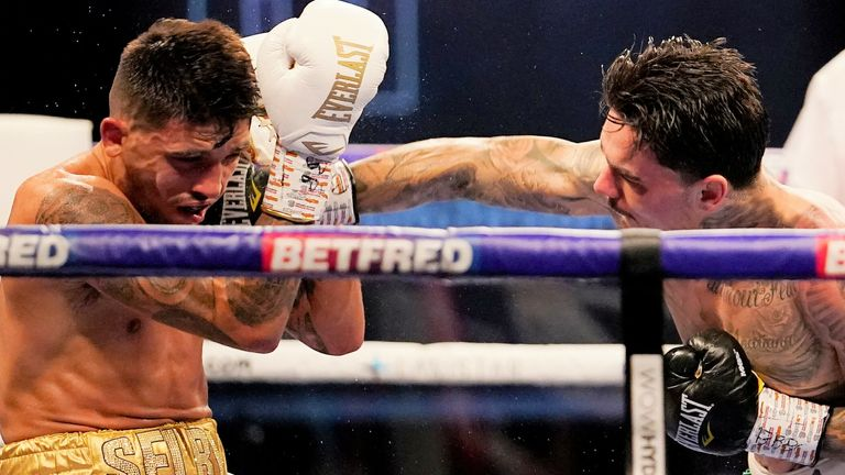 Lee Selby was beaten on points by George Kambosos Jr