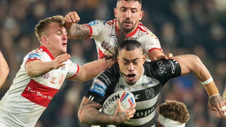 The Hull derby is one of the highlights of Super League's Round 19 fixtures