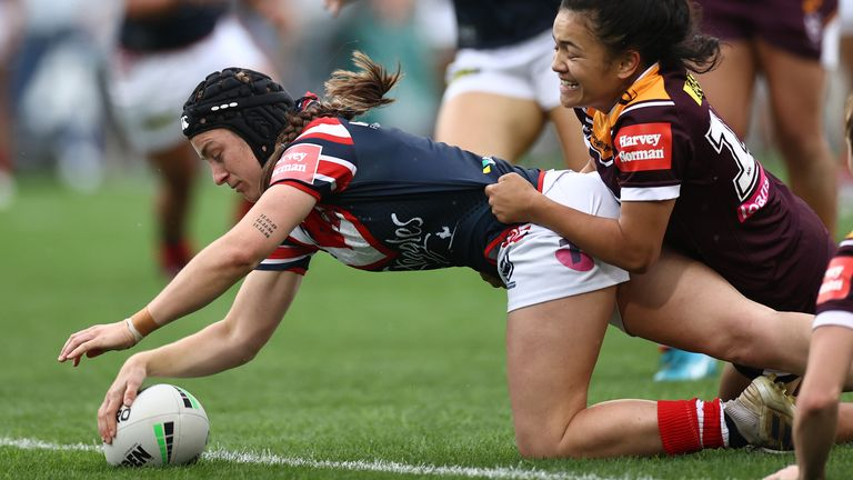 Melanie Howard gets an opportunity to start for the Roosters in the Grand Final