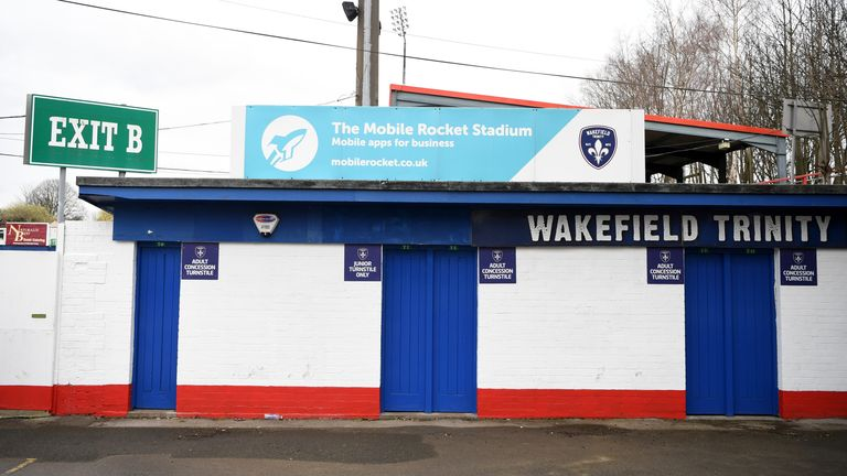 Wakefield will have two home matches to look forward to, albeit behind closed doors