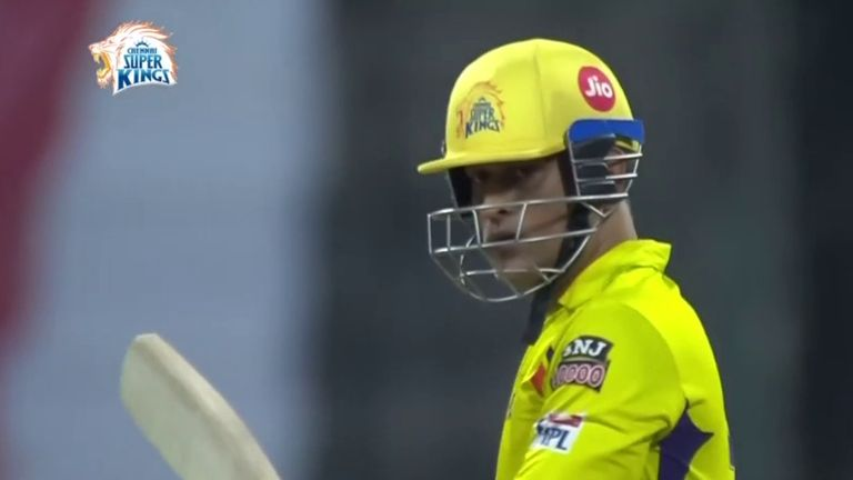 MS Dhoni's Chennai Super Kings are bottom of the IPL table