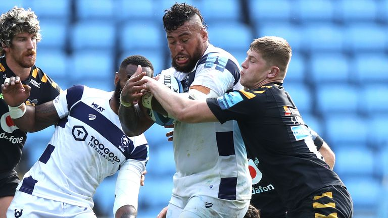 No 8 Nathan Hughes is also missing having picked up a ribs injury last weekend