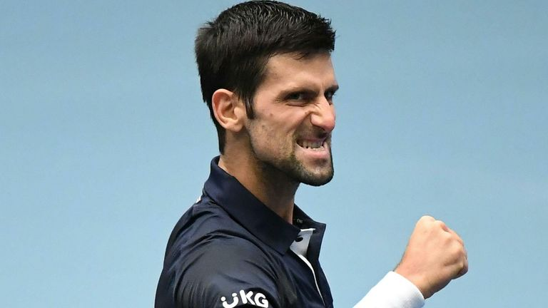 Novak Djokovic is looking to win the title in Vienna for the first time since his title run in 2007