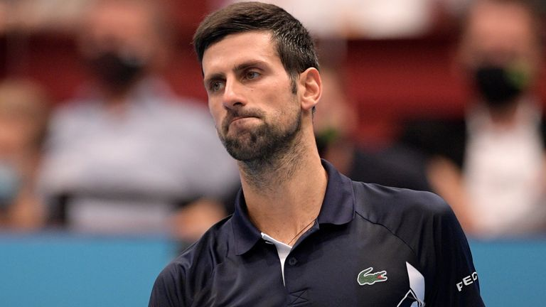 Novak Djokovic produced a lacklustre performance in his shock defeat to Lorenzo Sonego