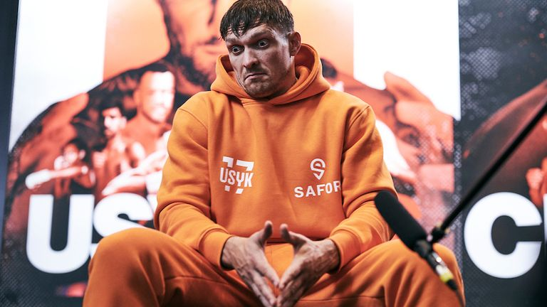 Usyk has been contacted by the WBO