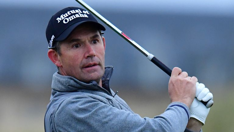 Padraig Harrington is chasing a first worldwide victory since the 2016 Portugal Masters