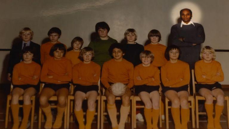 Paul Irons as a teacher at Fernwood School