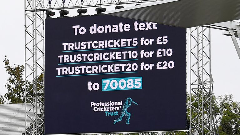 The Professional Cricketers Trust received the backing of the game on Vitality Blast Finals Day at Edgbaston