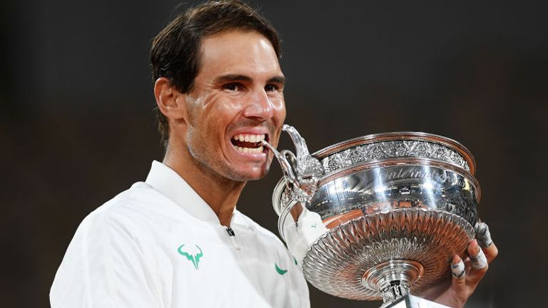 Rafael Nadal has 100 match wins at Roland Garros with just two defeats