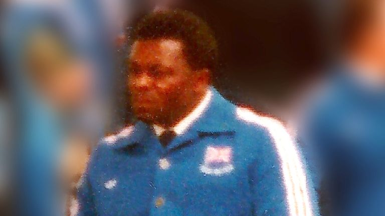 Ralph Rowe pictured at the 1980 Paralympic Games in Arnhem