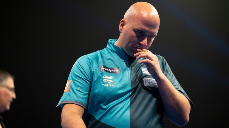 Rob Cross' miserable form continued as he added another high profile first-round exit to a disappointing season