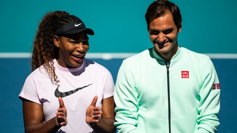 Serena Williams is a seven-time Australian Open champion, while Roger Federer won the last of his six titles at Melbourne Park in 2018