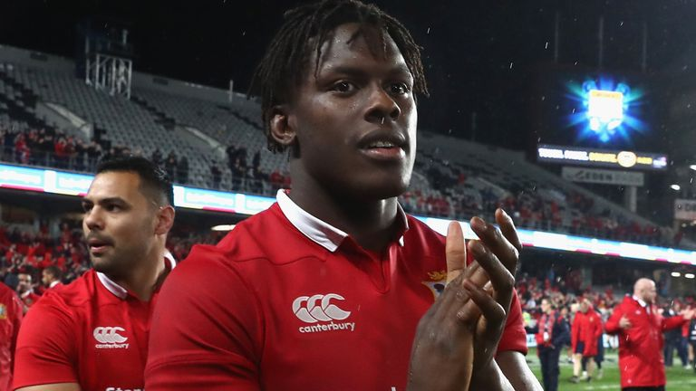 Itoje starred during the Lions' drawn series with New Zealand in 2017