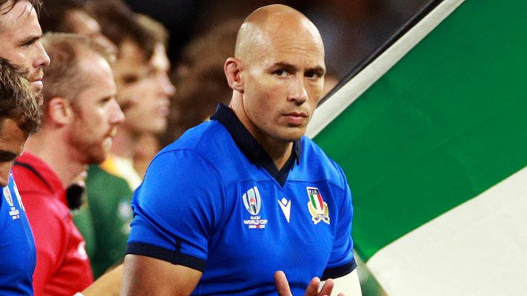 Sergio Parisse captained Italy in 94 of his 142 international appearances