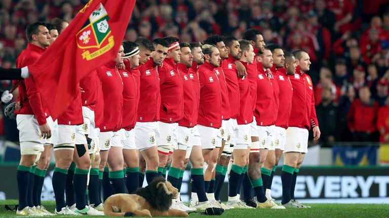 The British and Irish Lions will tour South Africa in 2021